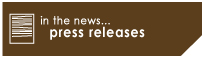 In the News... Press Releases
